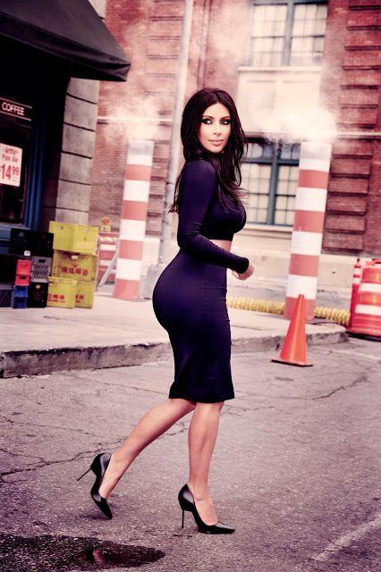 Estética Feminina: Kim Kardashian West é a estrela da coleção para o ...