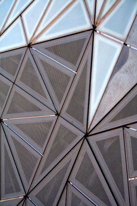 heinzink Special System pre-weathered-pro blue grey Federation Square, Melbourne, Australia Lab achitecture studio