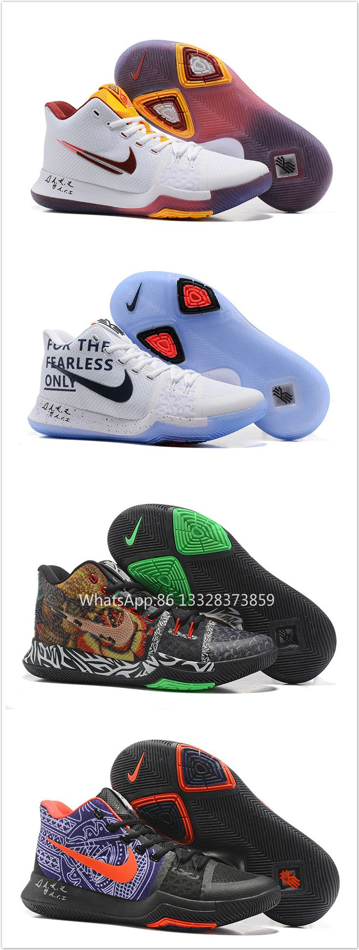 Free Shipping Kyrie Irving 3 Knit 2017 shoes 40-46 WhatsApp:86 13328373859 WeChat:e2shoes