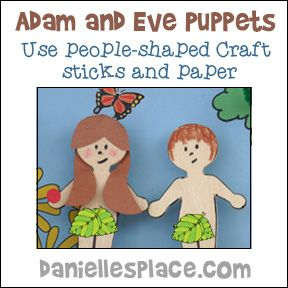 14 Best Adam And Eve Creation Craft For Sunday School