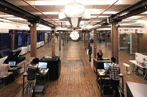 Quirky's NYC Office | 22 Gorgeous Startup Offices You Wish You Worked In