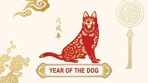 year of the dog 1934, 1946, 1958, 1970, 1983, 1994, 2006