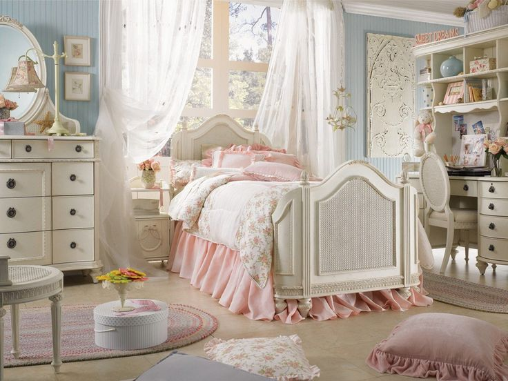 77 best Shabby Chic Girls Room images on Pinterest | Bedroom decor ...