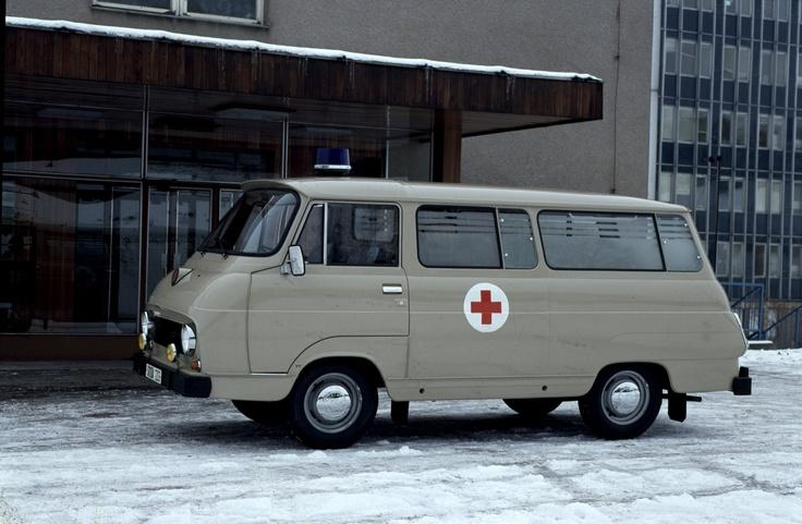 #Škoda 1203 Ambulance