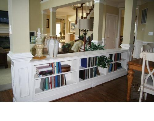 Step down from kitchen to family room. Found this here but couldn't get the pin to link: http://ths.gardenweb.com//forums/load/kitchbath/msg0406461312244.html