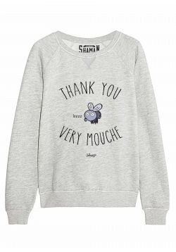 "Sweat ""Thank you"""