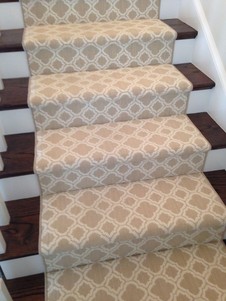 Luxelooms New Zealand Wool Carpet Runner Trellis Pattern