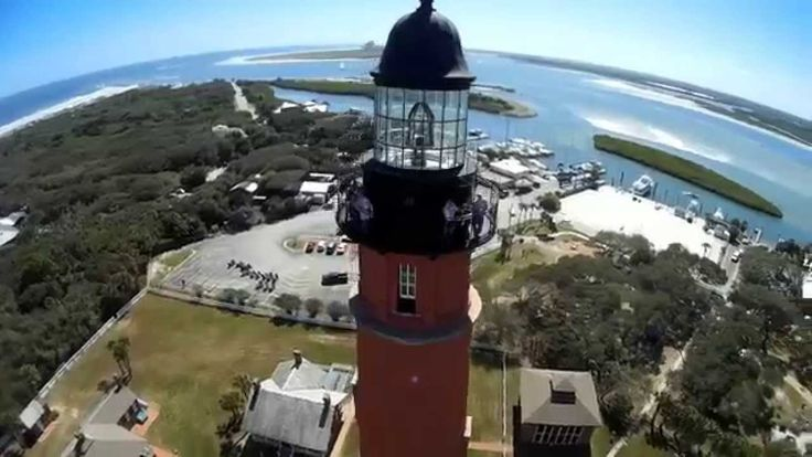 Ponce de Leon Inlet Lighthouse near NSB FL made by: www.HobbyFlip.com