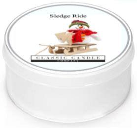 Sledge Ride  Classic Candle  Mini light