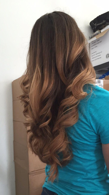 carmel ombre hair