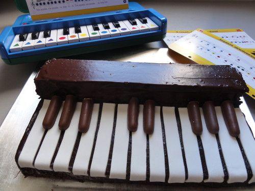 à propos de Gâteaux De Musique sur Pinterest  Gâteaux à thème de ...