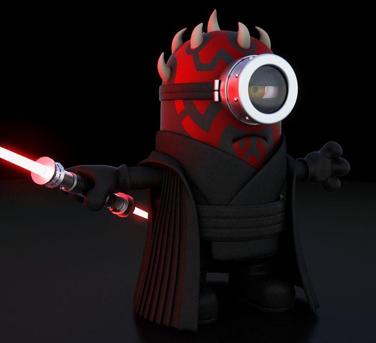 Minion Sith Star Wars Pinterest Star Starwars And
