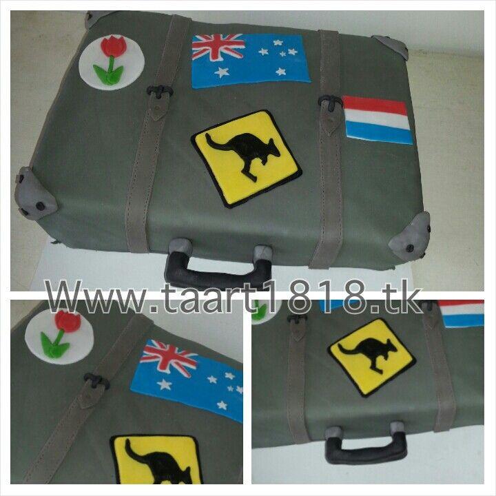 Koffer taart Www.taart1818.tk