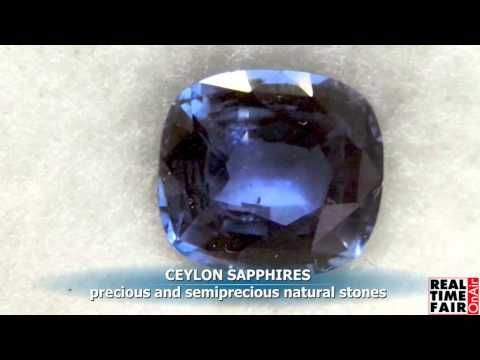 Ceylon Sapphire - presents their gemstons collections at Palakiss Vicenza - www.palakisstore.com