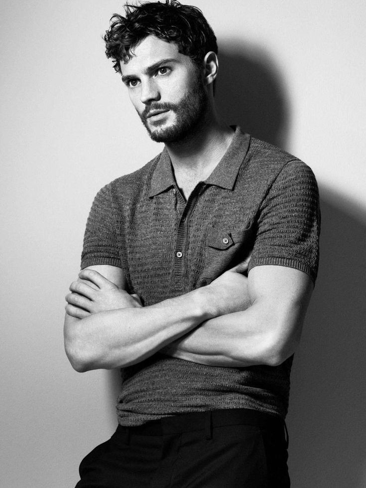 "Unffff, Jamie Dornan. He's the hottest Sheriff since ever. (Been watching a lot of ""Once Upon A Time"".)"