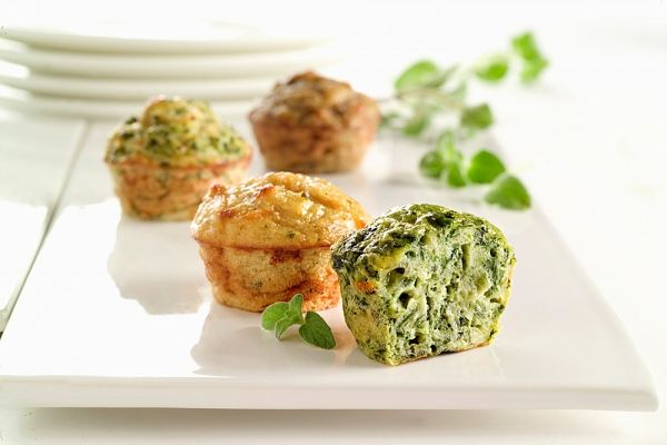 Sajtos-brokkolis muffin - MINDENMENTES