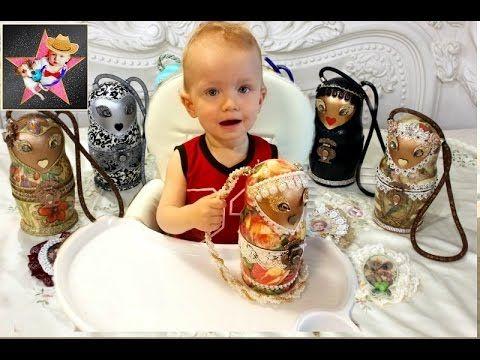 Матрёшка ЧЕЛЛЕНДЖ Handmade MATRYOSHKA CHALLENGE! МАША И МЕДВЕДЬ В ШОКЕ!...