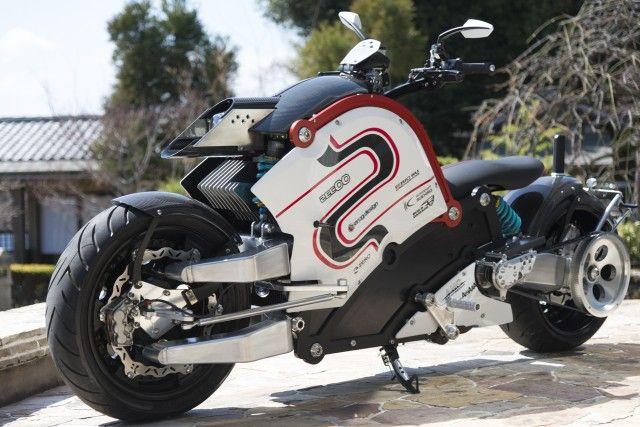 デザインが凄い。日本発の電動バイク zecOO一般発売開始 - ライブドアニュース