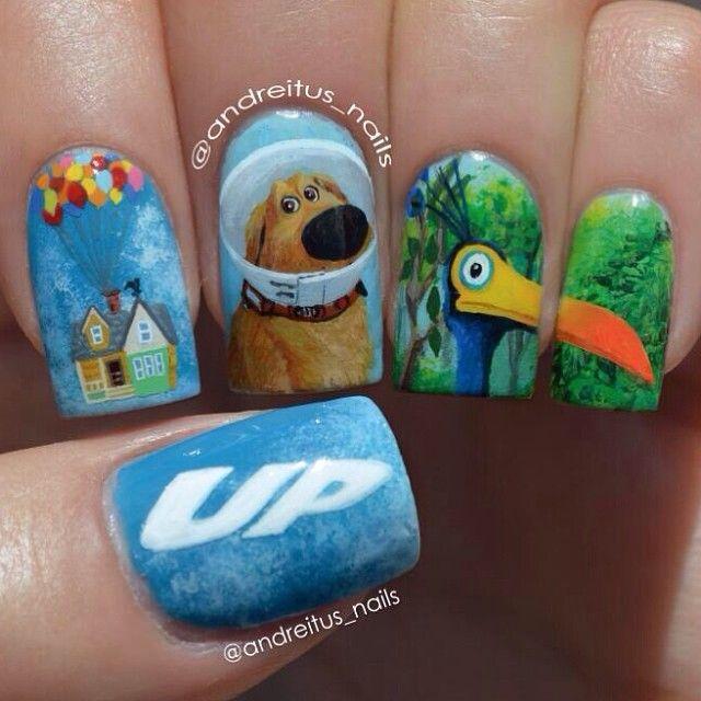 Andreitus Nails Disney Up