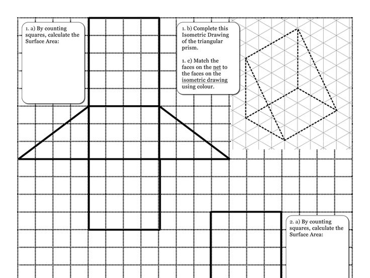 Isometric Drawing Worksheet Maths The Best And Most