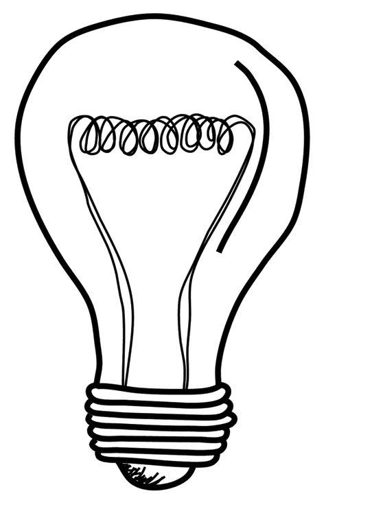 lightbulb drawing