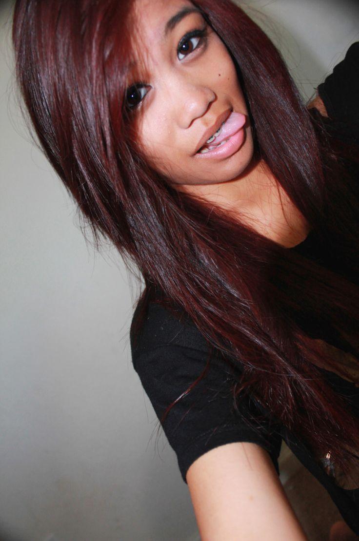 Best 25+ Burgundy hair colors ideas on Pinterest | Plum ...