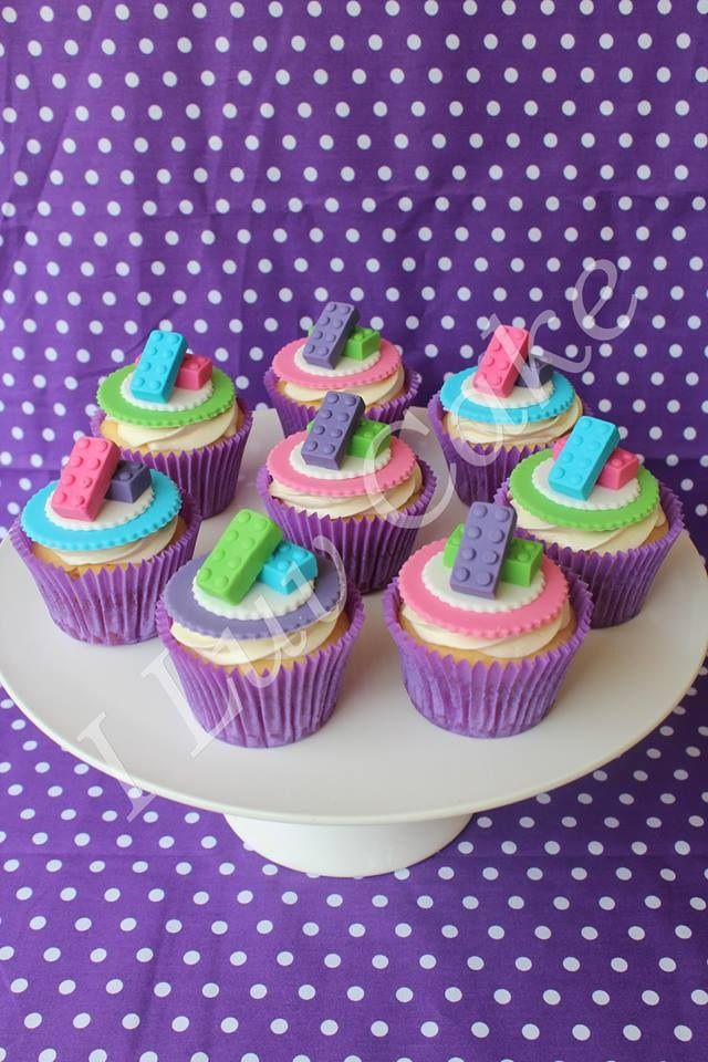 Lego Friends cupcakes by I a Luv Cake
