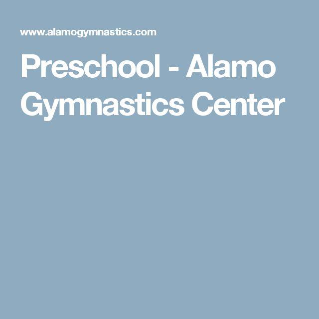 Preschool - Alamo Gymnastics Center