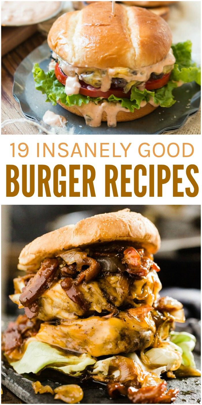 Take your burger game to the next level with these 19 Insanely Good Burger Recipes You Have to Try at Least Once! via @leviandrachel