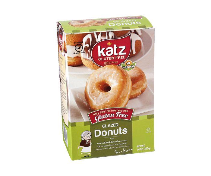 My absolute favorite Gluten Free doughnuts! Katz brand makes the best! -CB