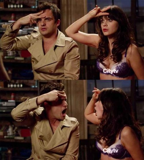 Seriously all I want is something like what nick and Jess have in New Girl. They are perfect