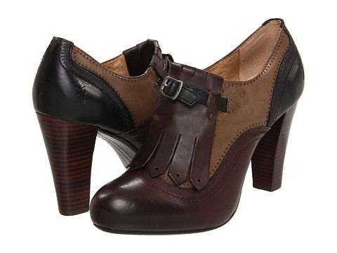 Ooh two tone oxford leather booties, how I long for thee...: Frye Miranda, Oxfords 228, Winter Shoes, Dresses Up, Kilti Oxfords, Dark Brown, Miranda Kilti, Shoes Thang, Shoes Mood
