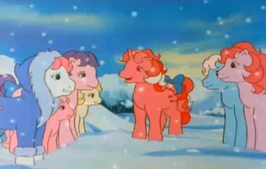 the original my little pony cartoon..they actually used to look like ponies. I loved this as a kid and now my daughter loves the new ones.