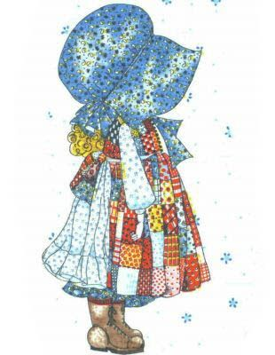 Holly Hobbie, I still have my doll and bedspread from when I was little.