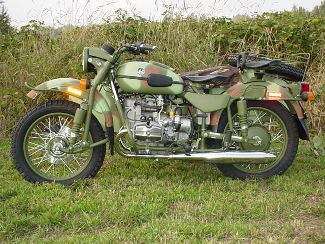 Gear Up - Ural Russian Motorcycles - Cossack Cycle