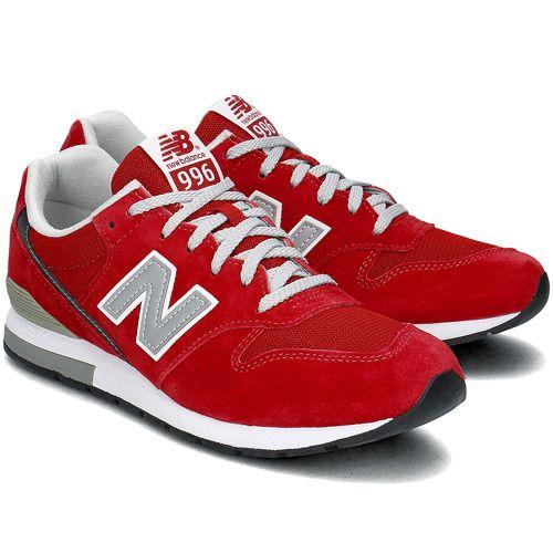 NEW BALANCE - New Balance 996 - Sneakersy Męskie - MRL996AR