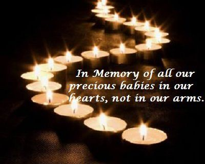 Remember our lost babies on october 15th (pregnancy and infant loss awareness day)