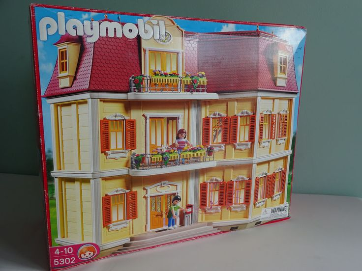 PLAYMOBIL 5302 Grand Mansion DOLLHOUSE Bell Rings 4-10 years  #PLAYMOBIL