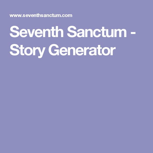 Best     Story title generator ideas on Pinterest   Creative     Pinterest