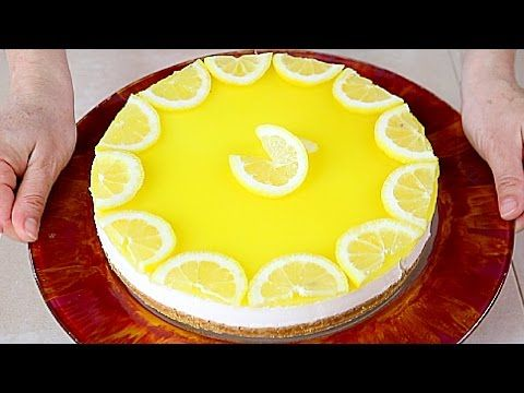 CHEESECAKE AL LIMONE Facile e Senza Cottura in Forno - No Bake Lemon Cheesecake easy recipe | Fatto in casa da Benedetta