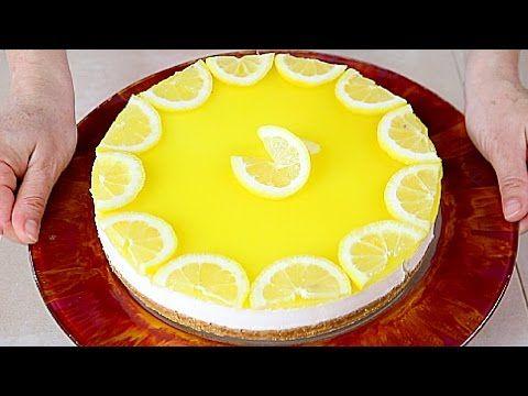 CHEESECAKE AL LIMONE Facile e Senza Cottura in Forno - No Bake Lemon Cheesecake easy recipe   Fatto in casa da Benedetta