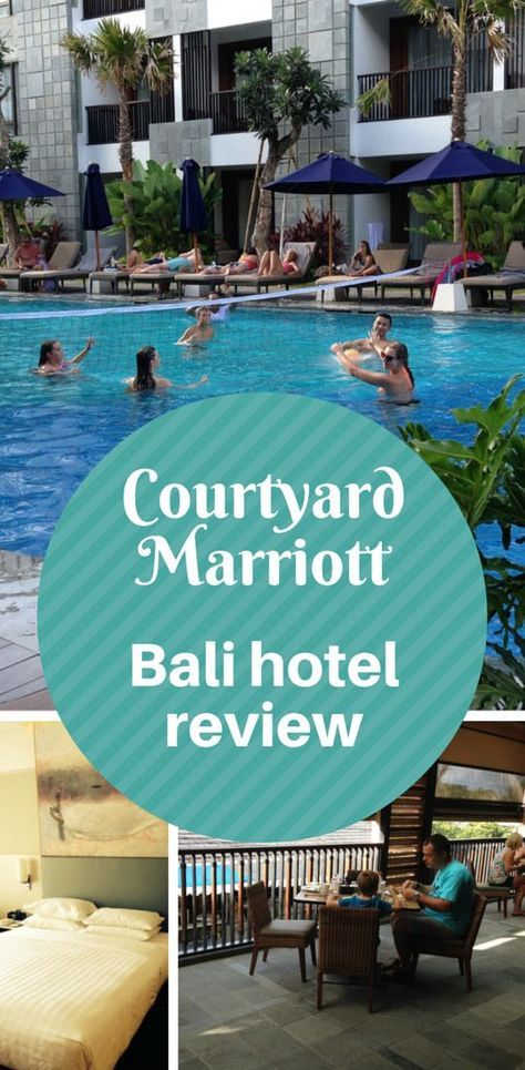Six ways the Courtyard Seminyak helped me to enjoy Bali - a review of a new Marriott hotel in Bali, Indonesia.
