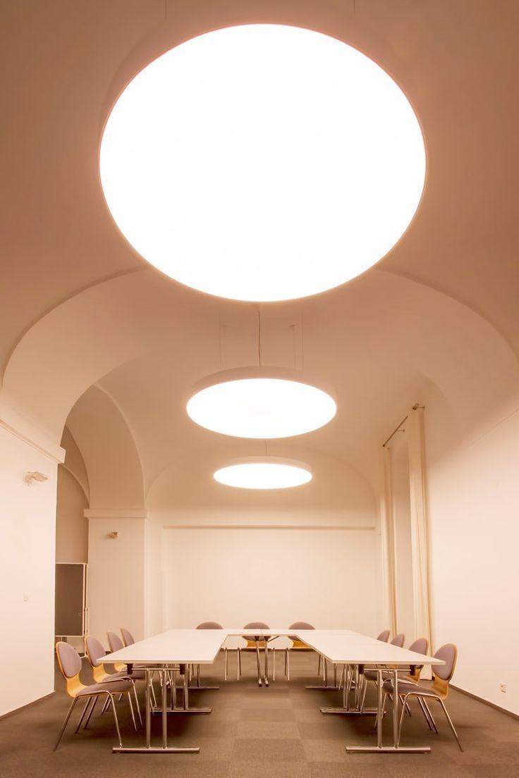 SvetelneStropy in Altes Kloster hotel conference room, Hainburg an der Donau, 2013 - svetelnestropy.sk