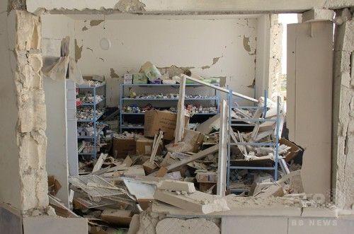 シリア・イドリブ県で病院7カ所に空爆 アサド政権かロシアが攻撃