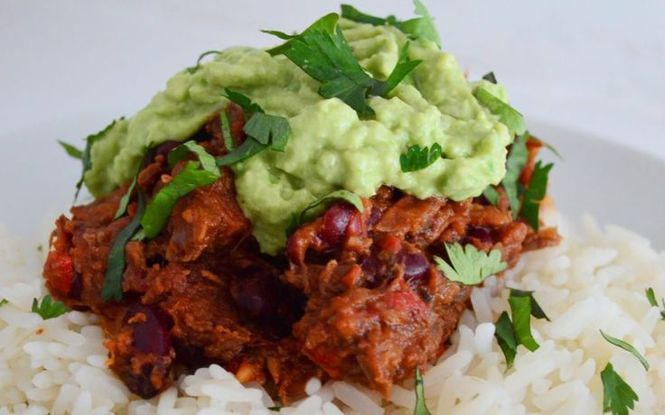 Slow-Cooked Chilli with Homemade Guacamole - Sal's Kitchen for Chilli Pepper Pete