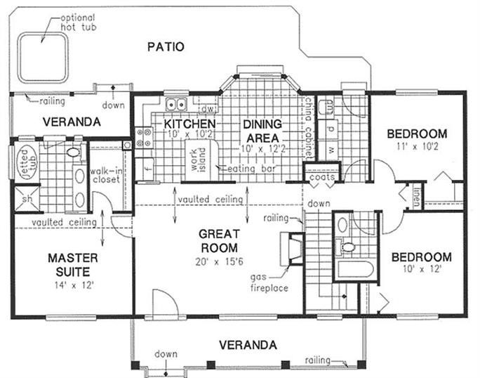 Tips To Plan Simple House Design With Floor Plan Under 1500 Square Feet  Simple House Design With Floor Plan Public Spaceroom Efficiencysimple House Part 71