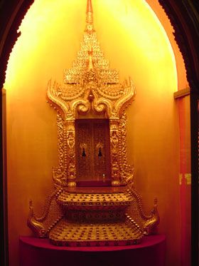 Back door to the throne of Myanmar (formerly Burma)...because Kings and Queens need to make a special entrance: Strike Doors, Back Doors, Queen, Portal, Dramatic Doors, Heavens Doors