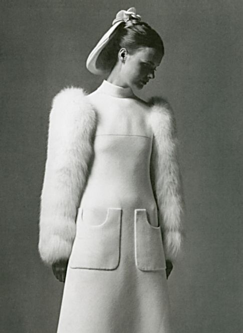 Pierre Cardin wedding dress 1960s