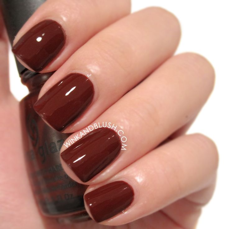 Nail Polish Swatch Book: China Glaze Brownstone Swatches + Review