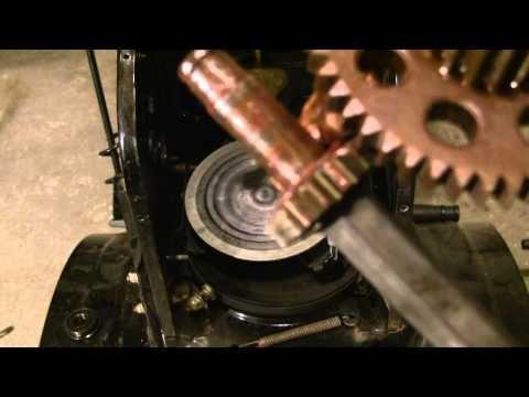 How to Repair Stuck MTD snowblower drive system - http://www.thehowto.info/how-to-repair-stuck-mtd-snowblower-drive-system/